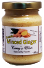 Picture of TONYS OWN MINCED GINGER 350g