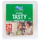 Picture of NATURAL TASTY CHEESE SLICE 250GM